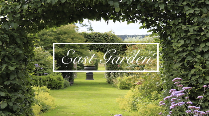 East Garden at Havoc Hall Oswaldkirk North Yorkshire