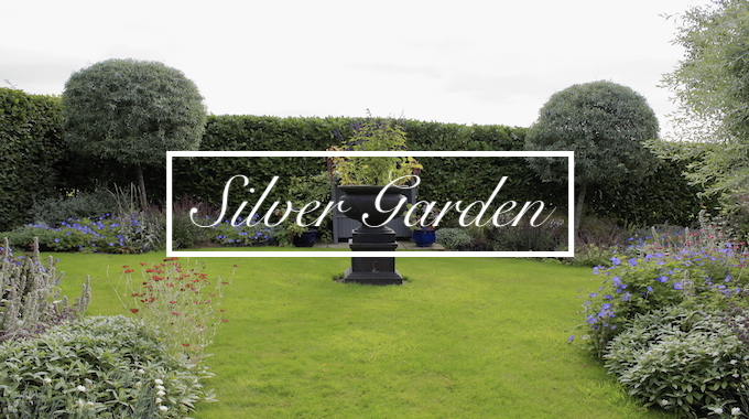 The Silver Garden at Havoc Hall Oswaldkirk North Yorkshire